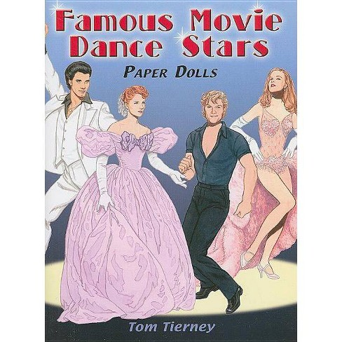 Famous Movie Dance Stars Paper Dolls - (Dover Celebrity Paper Dolls) by  Tom Tierney (Paperback) - image 1 of 1
