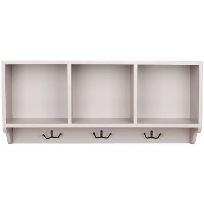 "Chiana 15"" Wall Shelf - Gray - Safavieh"