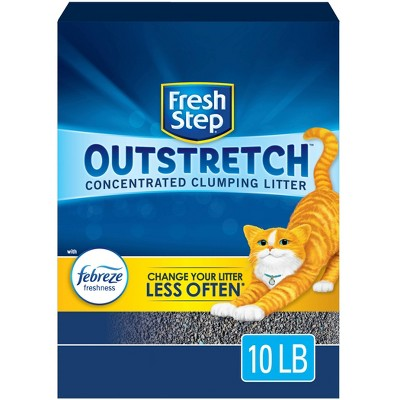 Fresh Step Outstretch Febreeze Scented Cat Litter - 10lbs