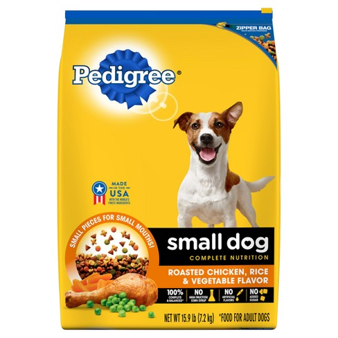 Pedigree® Small Breed Food for Adult Dogs Weighing Less than 25 lb (Chicken Flavor) - Dry Dog Food - 3.5 lbs - image 1 of 4