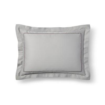 Gray Tencel Pillow Sham (Standard)- Fieldcrest®