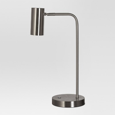 Dean LED Desk Lamp Nickel (Includes Energy Efficient Light Bulb)- Project 62™