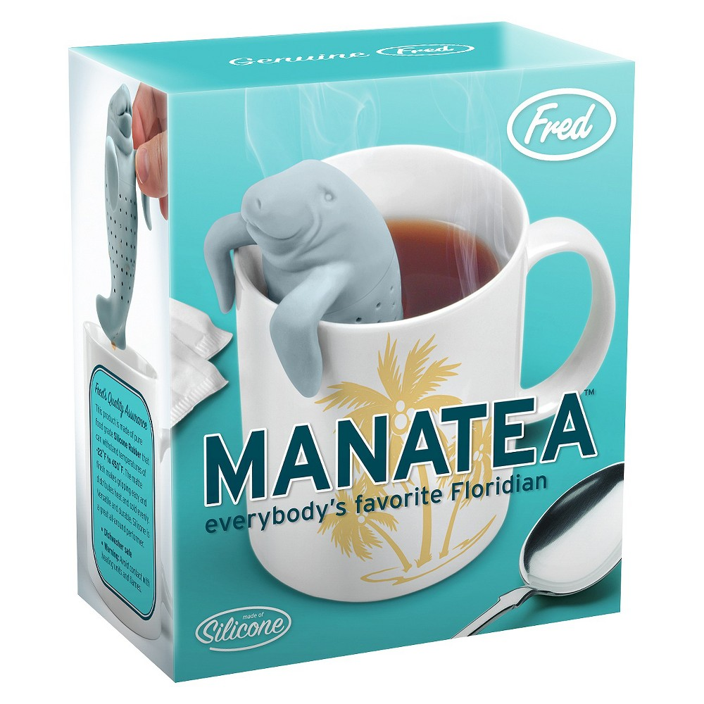 Image of Fred & Friends Manatea Tea Infuser, Gray