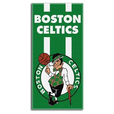 Boston Celtics Northwest Zone Read Beach Towel