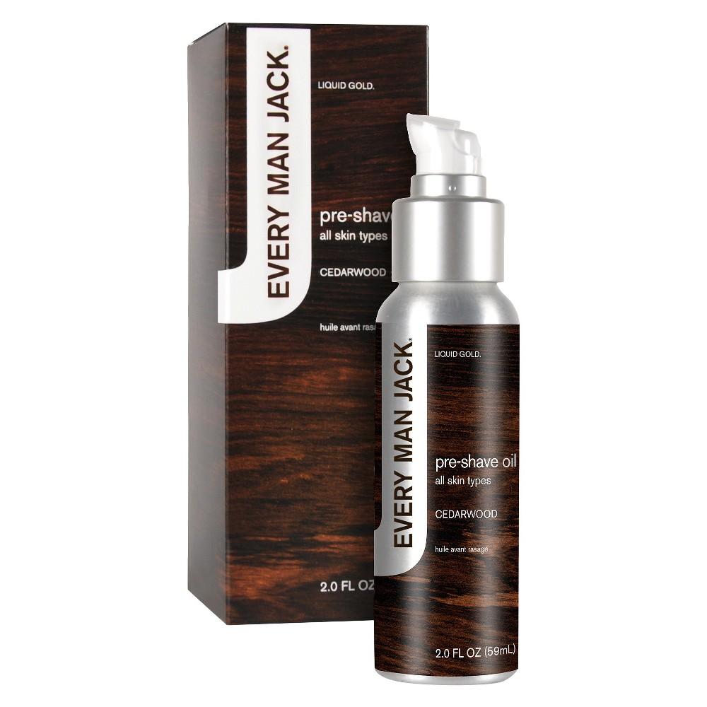 Every Man Jack Cedarwood Pre Shave Oil - 2.0 fl oz