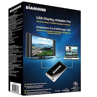 Diamond Multimedia USB External Video Display Adapter White BVU195
