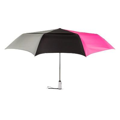 ShedRain Auto Open/Close Air Vent Compact Umbrella - Black