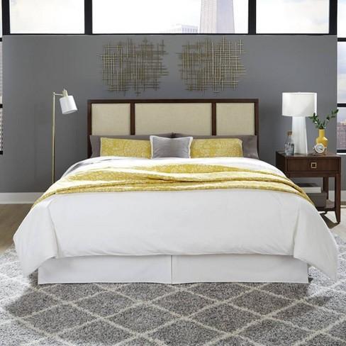 King Cal King Bungalow Bedroom Set Medium Brown Home Styles Target
