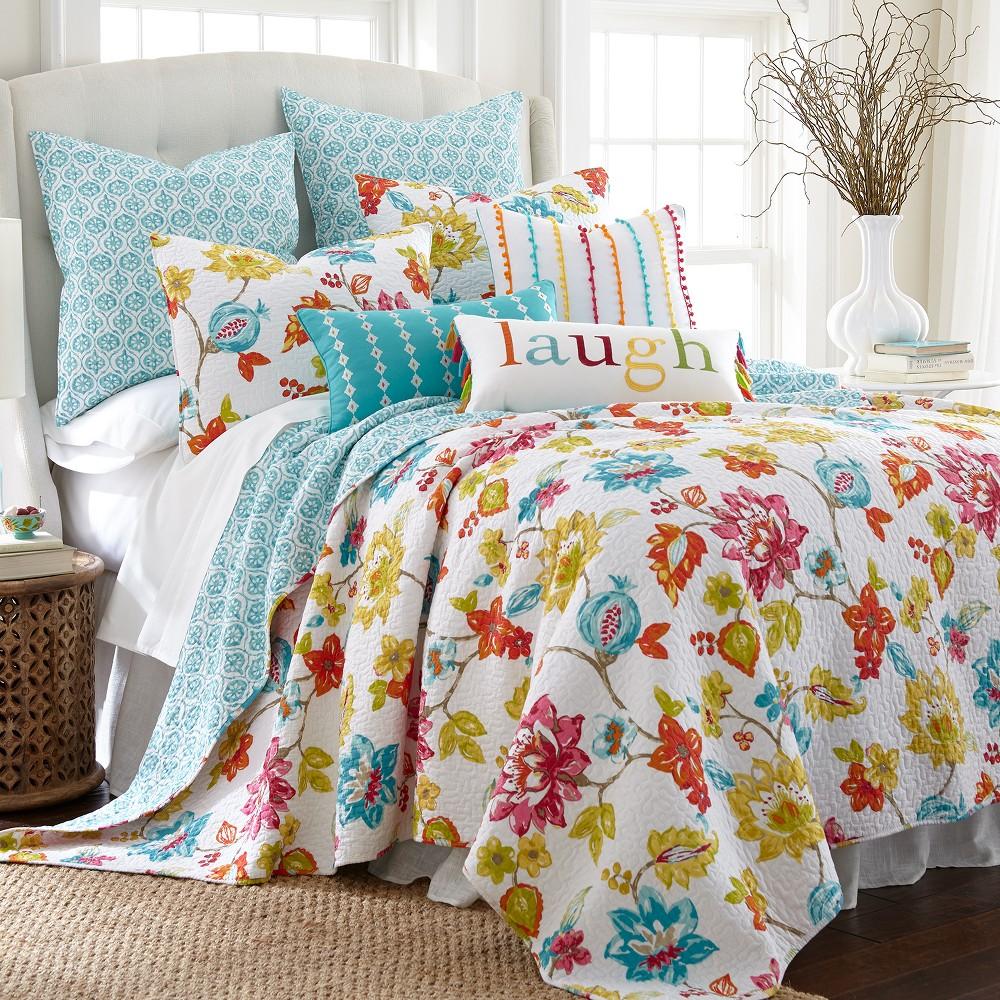 Image of Full/Queen Jorja Quilt Set White - Homethreads