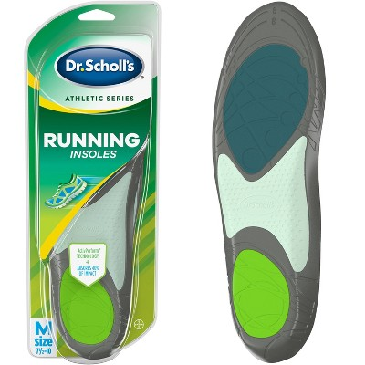 Dr. Scholl's Athletic Series Running Insoles Mens - Size (7.5-10)