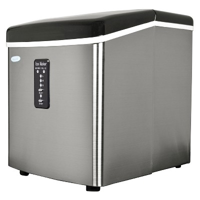 NewAir 28 lbs. Portable Ice Maker - Stainless Steel AI-100