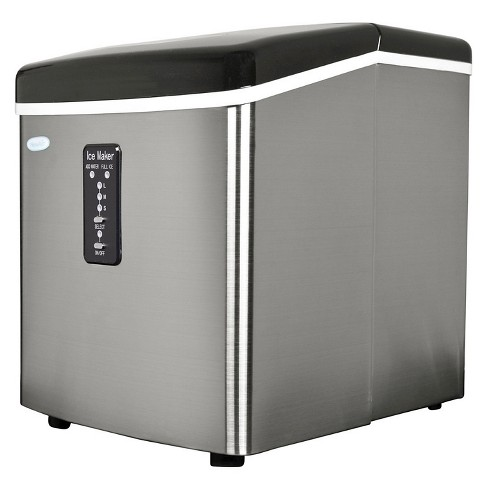 NewAir 28 lbs. Portable Ice Maker - Stainless Steel AI-100 - image 1 of 5