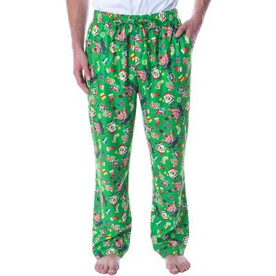 Nickelodeon Mens' SpongeBob SquarePants Oh Joy Loungewear Pajama Pants
