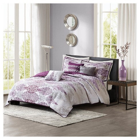 Reza 6 Piece Quilted Coverlet Set - image 1 of 7