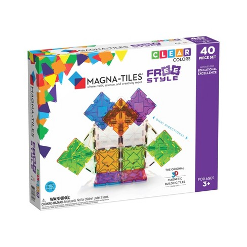 Magna-Tiles Freestyle 40 Piece Set - image 1 of 4