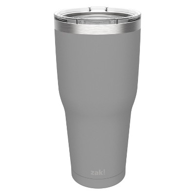 Zak Designs 30oz Double Wall Tumbler - Gray