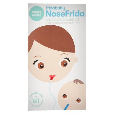 NoseFrida Fridababy Snotsucker Saline Kit