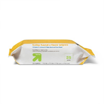 Hand and Face Wipes - 25ct - Up&Up™