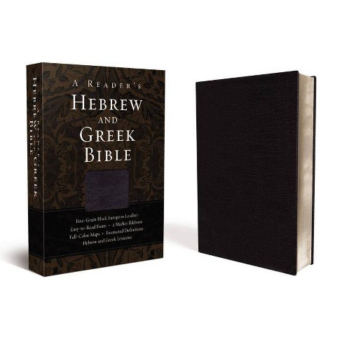 Reader's Hebrew and Greek Bible-FL - (Leather_bound) - image 1 of 1