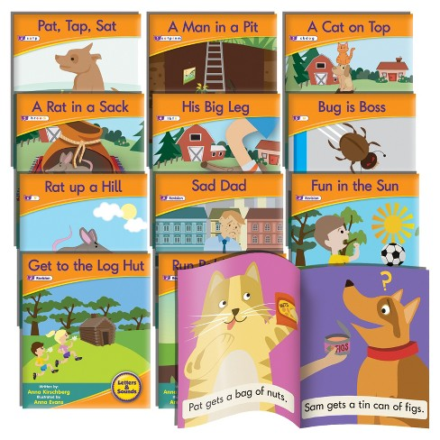 Junior Learning® Letter Sound Readers - Fiction Learning Set - image 1 of 3