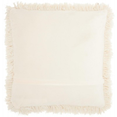 Nourison Lush Yarn Shag Throw Pillow : Target