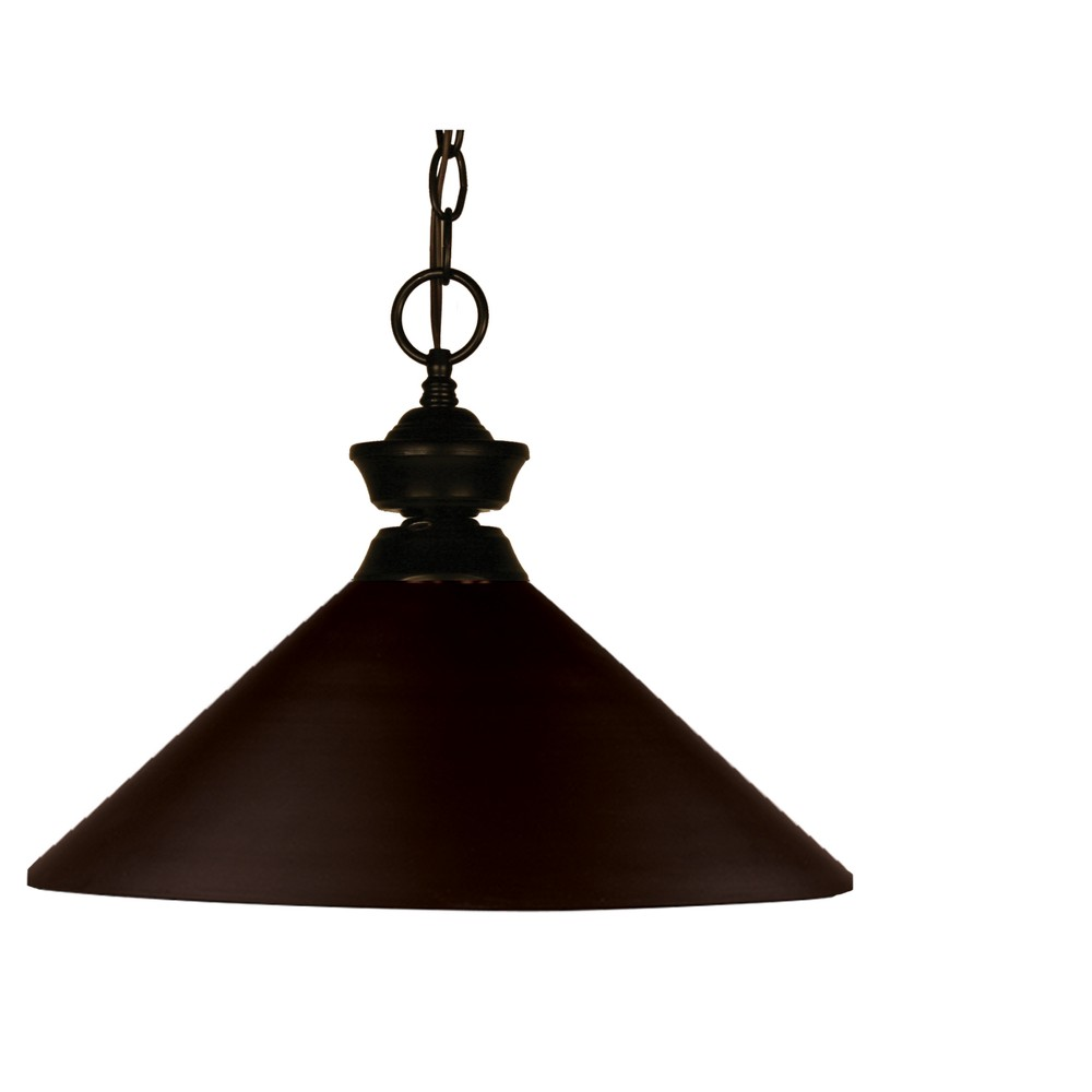 Pendant with Bronze Glass Ceiling Lights - Z-Lite