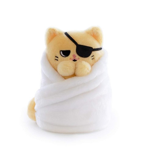 Hashtag Collectibles Purritos 7 Inch Cat In Blanket Plush Series 2 Tamago Target