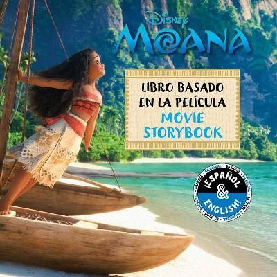 Disney Moana: Movie Storybook / Libro Basado En La Pel�cula (English-Spanish), Volume 3 - (Disney Bilingual)(Paperback)