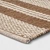 Stripe Woven Rug Natural - Threshold™ - image 2 of 3