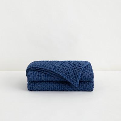 """50""""x70"""" Knit Throw Blanket - Tuft & Needle"""