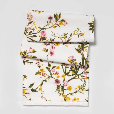 """14""""x72"""" Spring Floral Table Runner - Threshold™"""