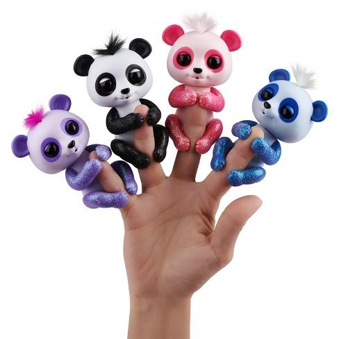 Fingerlings - Interactive Baby Panda - Beanie (Purple)   Target d4c9b83bc7d