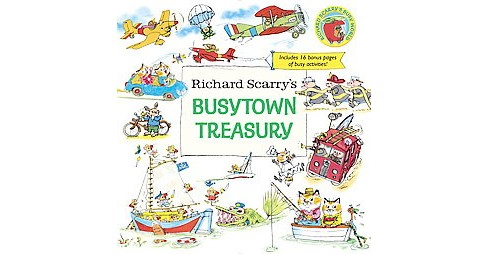 Richard Scarry's Busytown Treasury (Hardcover) - image 1 of 1