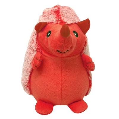 """Multipet Hedgehog Red Dog Toy - 8"""""""