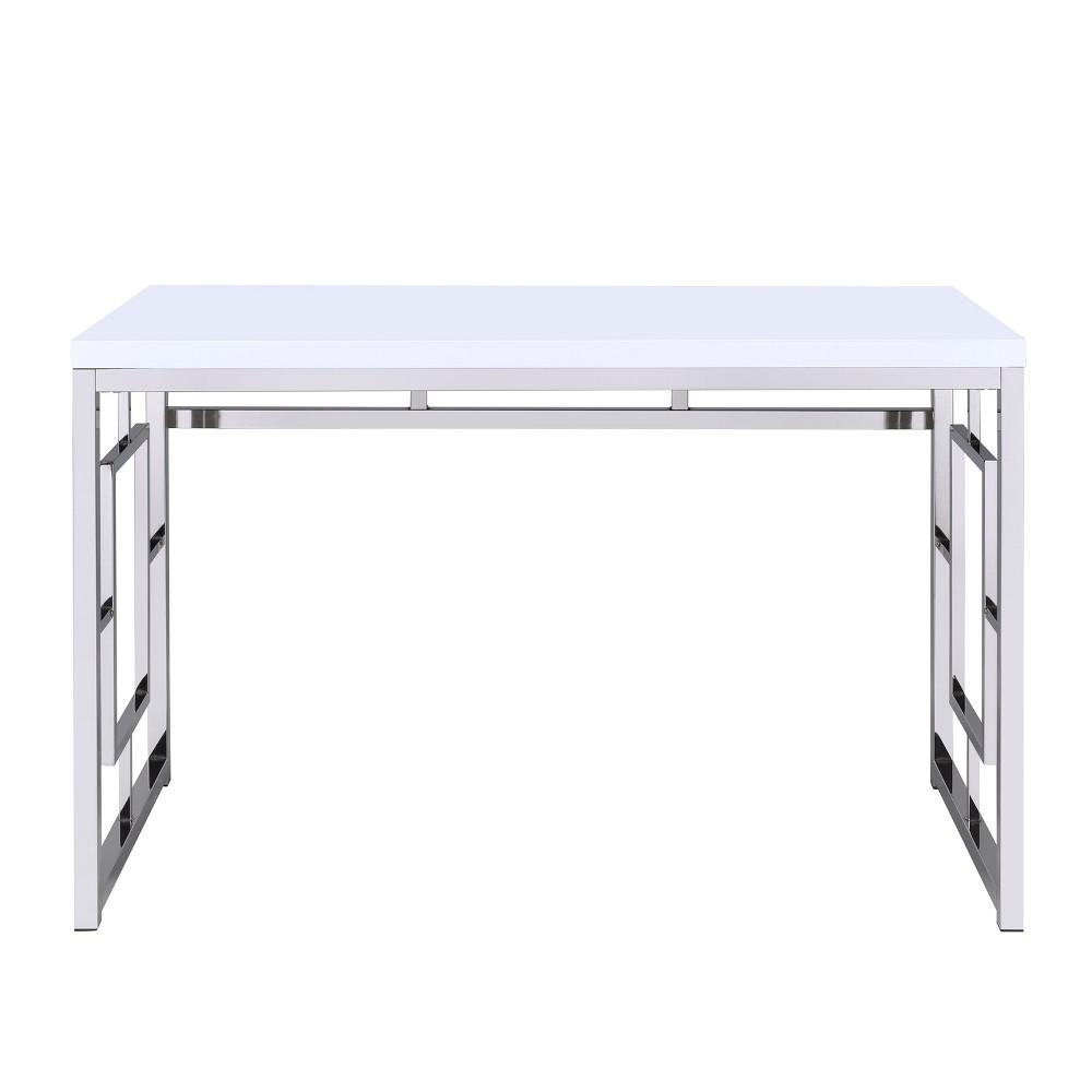 Contemporary Adina Desk White - Steve Silver