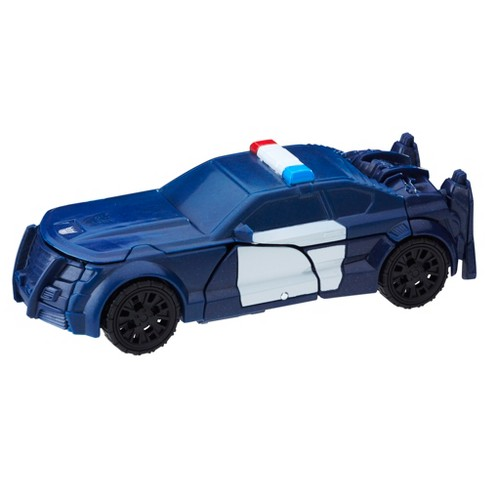 Transformers: The Last Knight 1-Step Turbo Changer Cyberfire Barricade - image 1 of 3