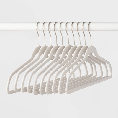 10pk Suit Hanger Hook Matte White - Made By Design™