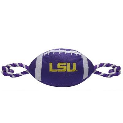 NCAA LSU Tigers Nylon Football Dog Toy