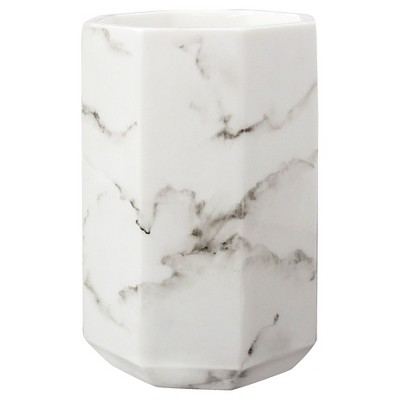 Marble Facet Tumbler - Allure