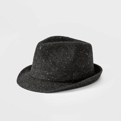 Kids' Tweed Fedora Hat - Cat & Jack™ Gray