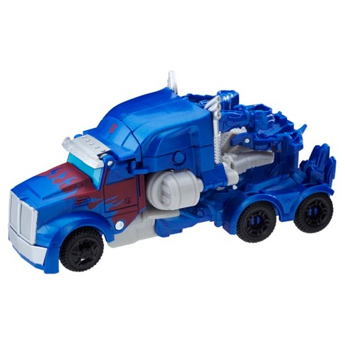Transformers The Last Knight 1-Step Turbo Changer Cyberfire Optimus Prime - image 1 of 3