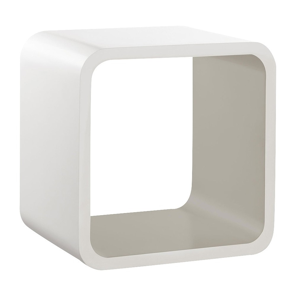 Image of Softcube Shelf Gray, decorative wall shelf