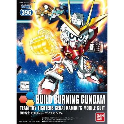 Bandai Hobby Build Fighters BB #396 Build Burning Gundam SD Model Kit
