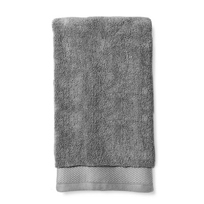 Reserve Solid Hand Towel Dark Gray - Fieldcrest®