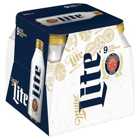 Miller Lite® Beer - 9pk / 16oz Aluminum Pints - image 1 of 2