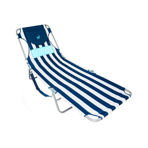 Ostrich Comfort Lounger Face Down Sunbathing Chaise Lounge Beach Chair Stripes Target