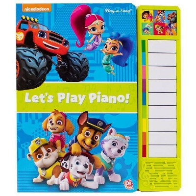 PAW Patrol and Friends  - Let's Play Piano! Sound Book