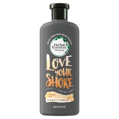 Shampoo & Conditioner: Herbal Essences Bio:Renew Love Your Shore Coconut Milk