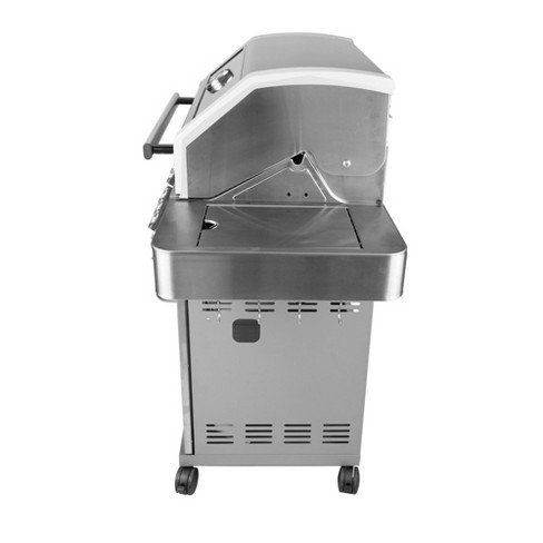 Monument Grills Stainless Steel 4 Burner Propane Gas Grill 54 Inch
