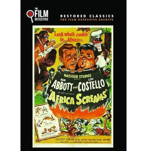 Africa Screams (DVD) - image 1 of 1